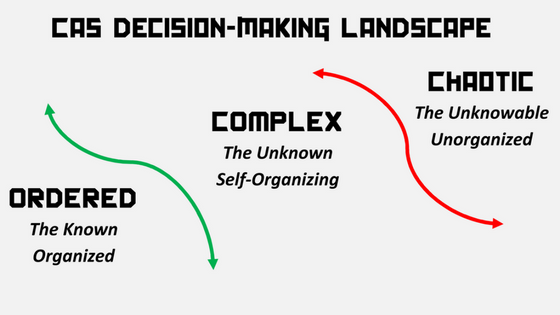 Complexity Thinking Decision-making Landscape